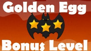 Angry Birds Seasons Haunted Hogs - Golden Egg / Bonus Level