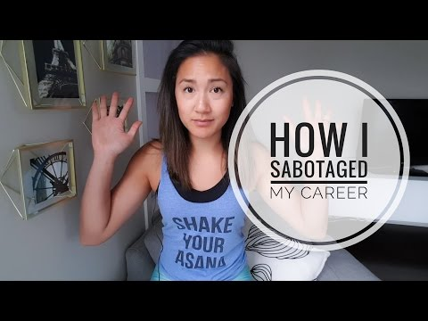 HOW I SABOTAGED MY YOGA CAREER At the start