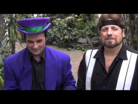 """The Amazing Johnathan's """"Burn Unit"""" With Sylvester The Jester/""""On The Road"""" Episode"""