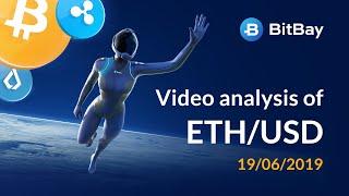 Ethereum Price Technical Analysis ETH/USD 19/06/2019 - BitBay