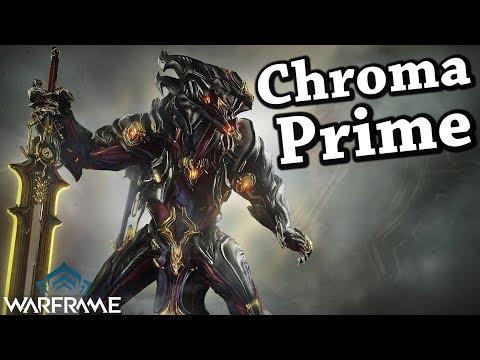 Warframe | Chroma Prime [Showcase] thumbnail