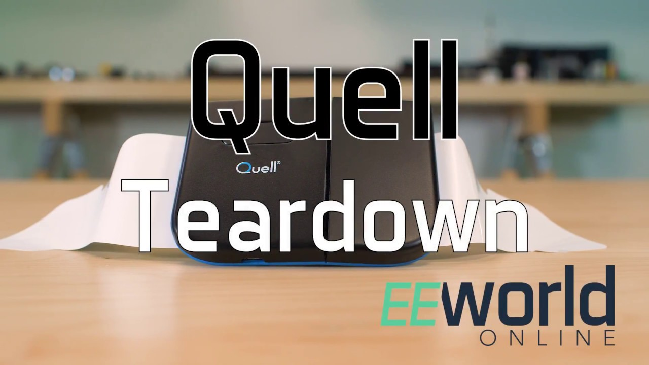 e6cfba2157 Teardown: Inside the Quell TENS pain-relief stimulator - YouTube
