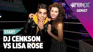 DJ BATTLE - KWART FINALE: DJ CENKSON VS LISA ROSE