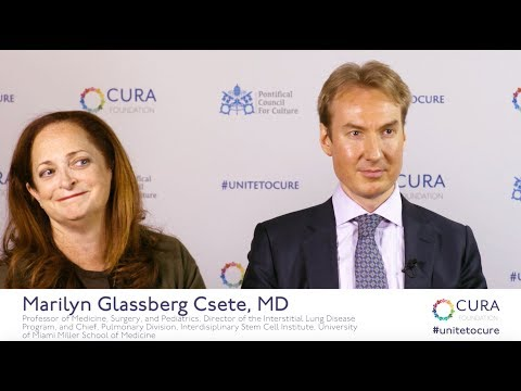 Unite To Cure: Jan-Eric W. Ahlfors and Marilyn Glassberg Csete, MD