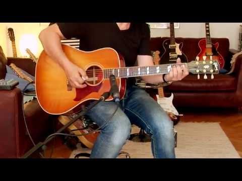 "2012 Gibson ""Hummingbird Artist"" HCS, Part1"