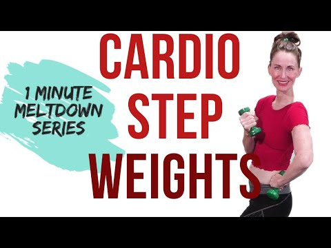 30-minute-workout-|-cardio-step-and-weights-|-weight-loss-workout-|-fat-burning-workout|-low-impact