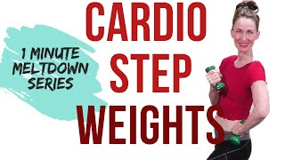 30 MINUTE WORKOUT | CARDIO STEP AND WEIGHTS | WEIGHT LOSS WORKOUT | FAT BURNING WORKOUT| LOW IMPACT