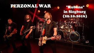 PERZONAL WAR - 20th Anniversary concert (Live in Siegburg 2016, HD)