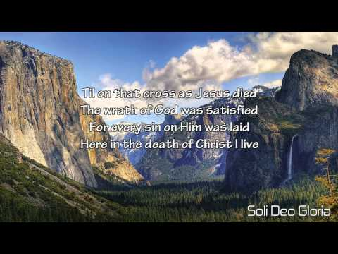 In Christ Alone (Lyrics)