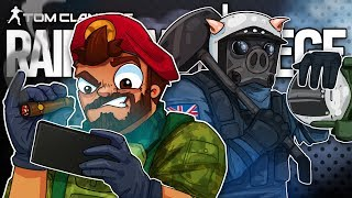 TOP NOTCH CAMERA PLAYS! - Rainbow Six Siege! w/ RussianBadger!