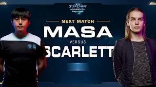 MaSa vs Scarlett TvZ - Semifinal - WCS Challenger NA Season 2