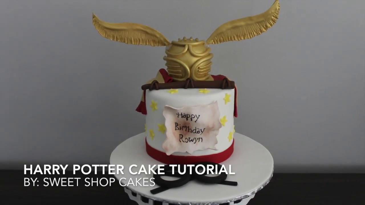 Harry Potter Cake Tutorial | Sweet Shop Cakes