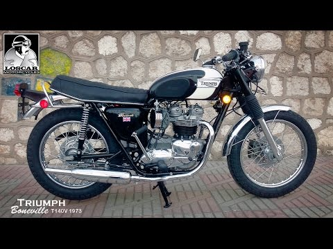 Triumph Boneville T140V