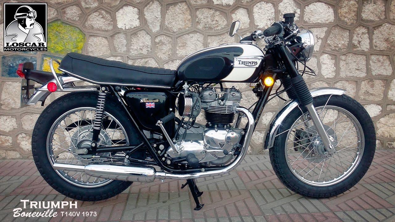 Triumph Boneville T140v 1973 Youtube
