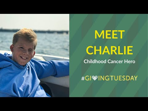 Meet Charlie: Childhood Cancer Hero