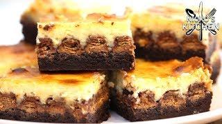 Kit Kat Brownie Cheesecake   3 Desserts in 1!