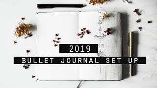My ♡ 2019 ♡ Bullet Journal Setup