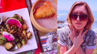 WHAT I ATE TODAY (VEGAN) 🌈  roadtrip to cambria, ca