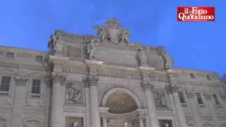 Roma, ecco il restauro della Fontana di Trevi finanziato da Fendi