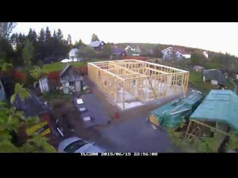 видео: Каркасный дом по скандинавским мотивам в Агалатово, СПБ часть 1