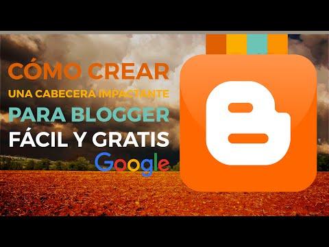 Cómo crear una cabecera con imagen para Blogger gratis