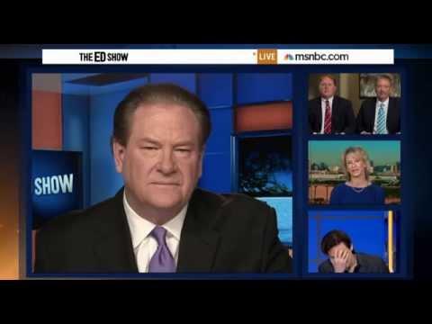 Ed Show John Fuselgang Shuts Down Heidi Harris