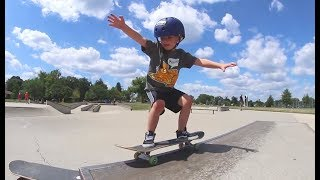 FATHER SON BEST SKATE MOMENTS EVER!