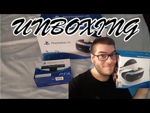 Unboxing | Playstation VR, Playstation Camera y PS Move (Gafas de Realidad Virtual)