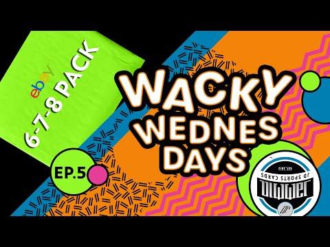 Wacky Wednesday EP.5 | 6-7-8 Football Pack eBay | 7 HITS!!!