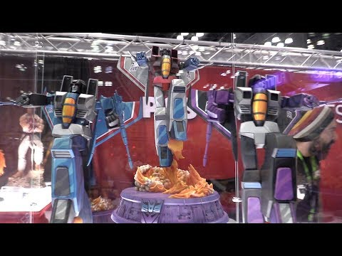 NYCC 2018: Pop Culture Shock Toys - Transformers WWE Street Fighter Mortal Kombat