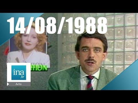 20h Antenne 2 du 14 août 1988 - Pauline Lafont a disparu - Archive INA