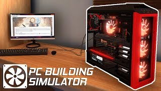 Run Your Own COMPUTER SHOP! Build, Sell and Repair PC's! - PC Building Simulator Gameplay