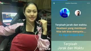Terpisah Jarak dan waktu - Sule dan Baby Shima | video karaoke duet bareng artis tanpa vokal cowok