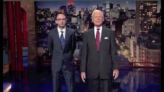 Joe List on Late Show, June 5, 2014