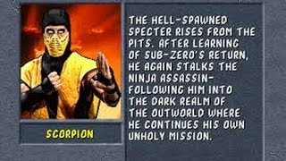 Mortal Kombat II (Arcade) Scorpion Gameplay on Very Hard no Continues