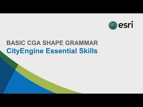 #9 CityEngine Essential Skills: Basic CGA Shape Grammar
