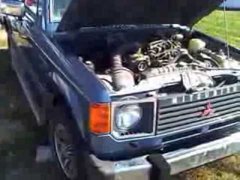 89 mitsubishi montero for sale oct 2013 pt 2 montero - YouTube