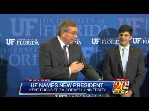Kent Fuchs Named Florida's New President