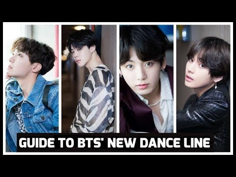 Guide to BTS' NEW DANCE LINE
