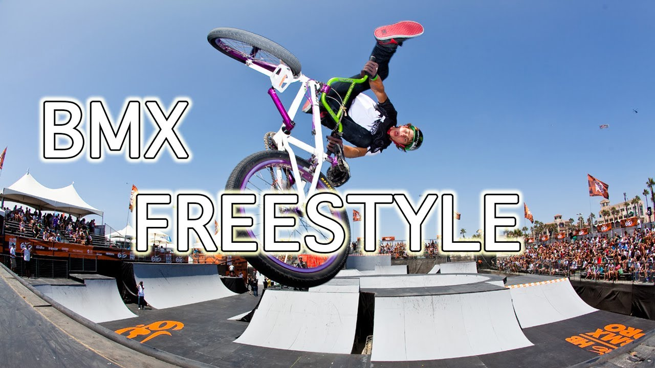 Bmx Freestyle Tricks - YouTube