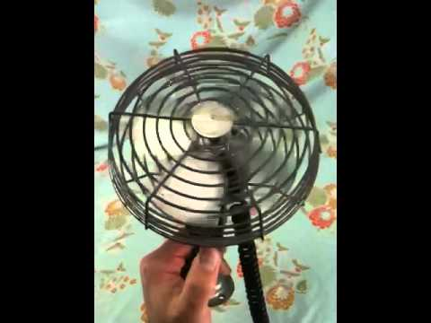 Ebay - Vintage Dash Mounted Fan