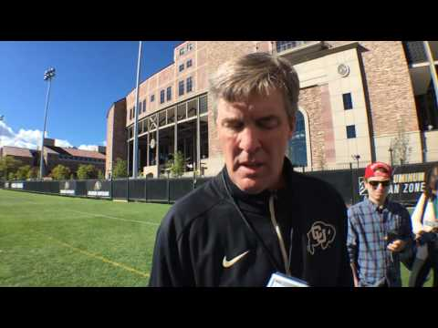 Mike MacIntyre Media Address - 10/5