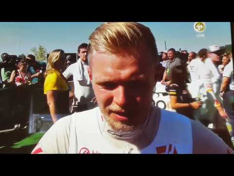 Hulkenberg interrupt in a Kevin Magnussen interview. Hungary GP aftermath.