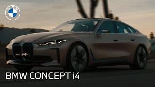 homepage tile video photo for The BMW Concept i4: New Electric Car | BMW USA