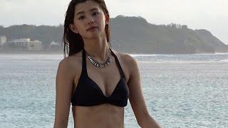 三愛水着イメージガール・朝比奈彩、グアムでの撮影メイキングを公開