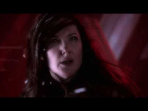 Smallville 6x01 - Martha talks to Jor-El at the Fortress