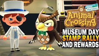 Museum Day Stamp Rally & Rewards! Animal Crossing New Horizons Event Update