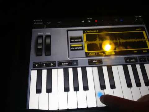 Different sounds on my  tablet