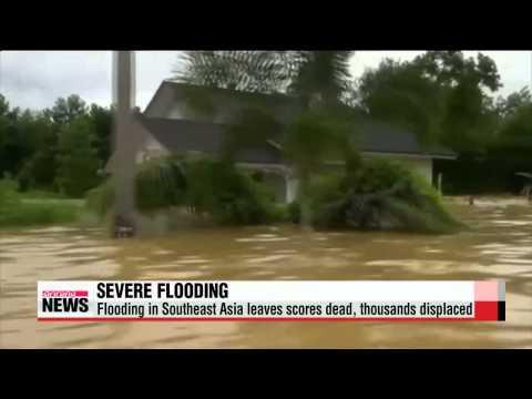Severe flooding in Southeast Asia kills scores   동남아 곳곳서 홍수로 최소 18명 사망