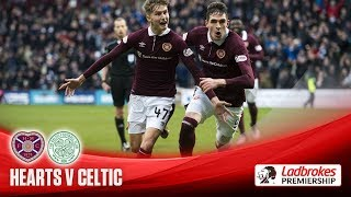 Hearts hammer Celtic to end record-breaking run